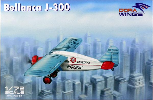 1/72 べランカ J-300 「リバティ」 & 「ワルシャワ」 プラモデル[DORA WINGS]《取り寄せ※暫定》