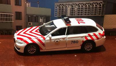 Tiny City TW BMW 5シリーズ 国道高速道路警察局[TINY]《在庫切れ》