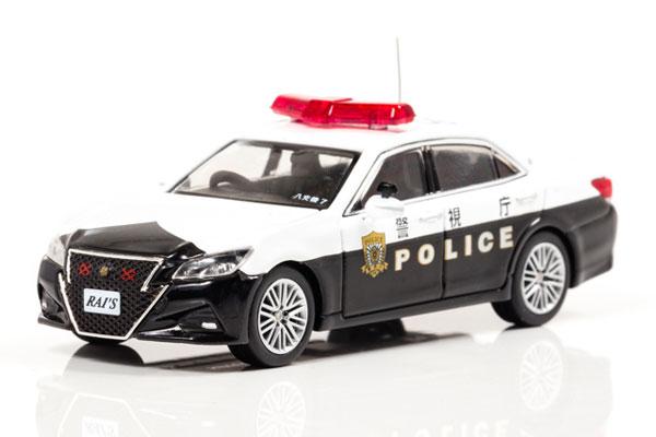 1/64 トヨタ クラウン アスリート (GRS214) 警視庁交通機動隊車両 (8交7)[RAI'S]《在庫切れ》