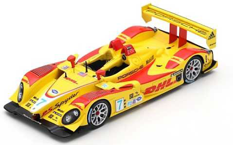 1/43 Porsche RS Spyder No.7 Penske Racing Winner Sebring 12H 2008 R. Dumas - T. Bernhard - E. Collard[スパーク]《在庫切れ》