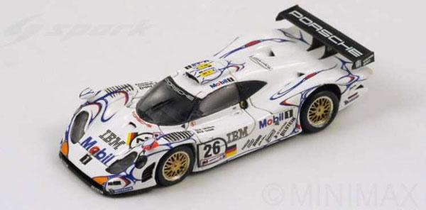 1/87 Porsche 911 GT1-98 No.26 Winner Le Mans 1998 A. McNish - L. Aiello - S. Ortelli[スパーク]《在庫切れ》