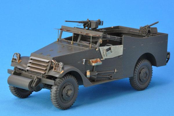 1/35 M3A1スカウトカーエッチングセット [対応キット T社:MM35363][パッションモデルズ]《在庫切れ》
