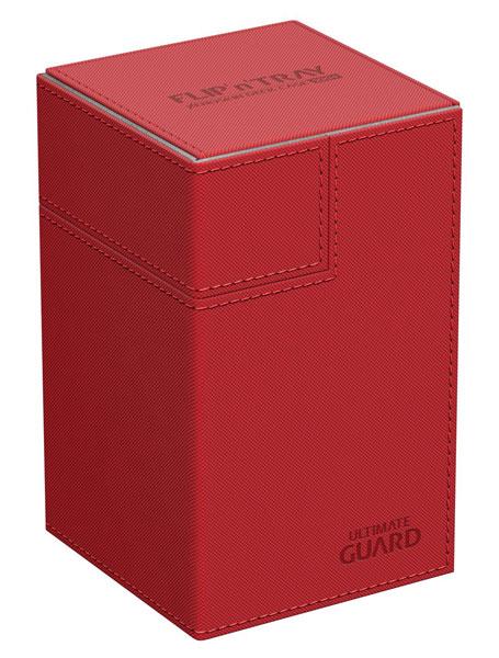 フリッピントレイ デッキケース 100 ゼノスキン レッド[アルティメットガード]【送料無料】《在庫切れ》