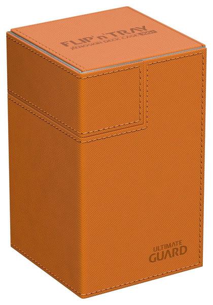 フリッピントレイ デッキケース 100 ゼノスキン オレンジ[アルティメットガード]《発売済・在庫品》