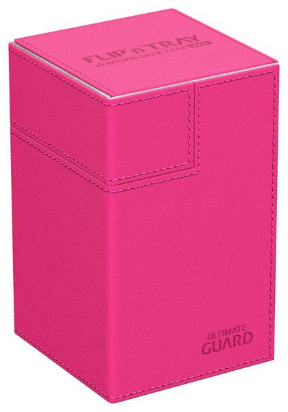 フリッピントレイ デッキケース 100 ゼノスキン ピンク[アルティメットガード]《発売済・在庫品》