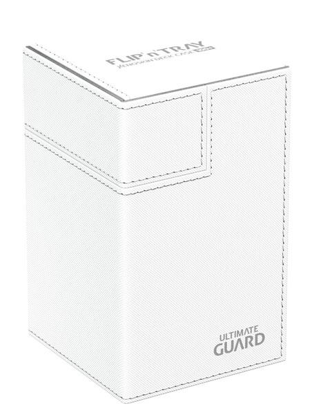 フリッピントレイ デッキケース 100 ゼノスキン ホワイト[アルティメットガード]《発売済・在庫品》