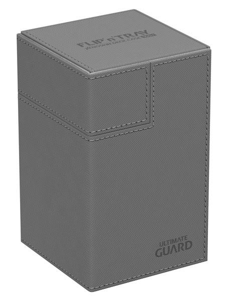 フリッピントレイ デッキケース 100 ゼノスキン グレイ[アルティメットガード]《発売済・在庫品》