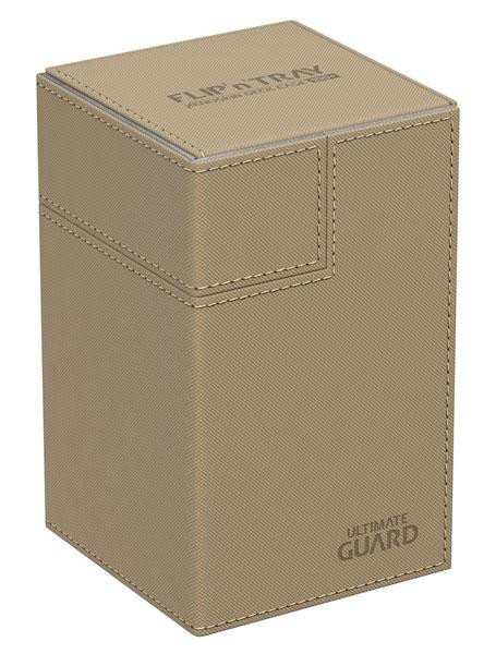 フリッピントレイ デッキケース 100 ゼノスキン サンド[アルティメットガード]《発売済・在庫品》