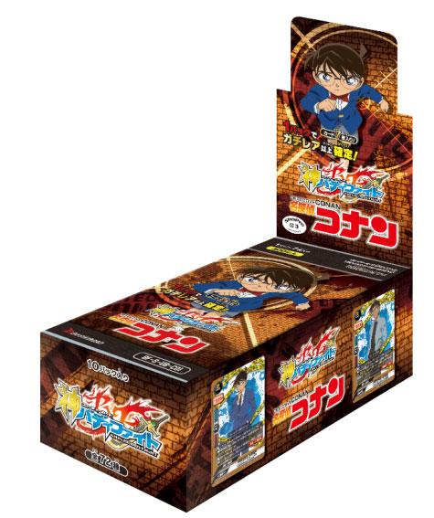 神バディファイト アルティメットブースタークロス第1弾 「名探偵コナン」 10パック入りBOX[ブシロード]《発売済・在庫品》