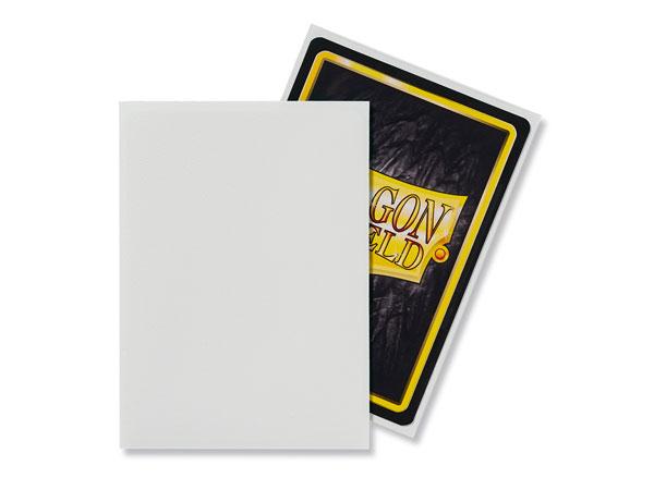 ドラゴンシールド マット スタンダードサイズ ホワイト(100枚入り) パック[ARCANE TINMEN]《発売済・在庫品》