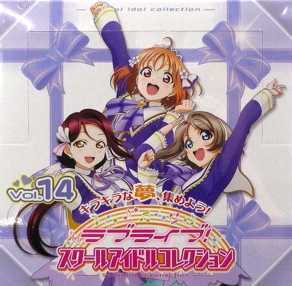 ラブライブ!スクールアイドルコレクション Vol.14 30パック入りBOX[ブシロード]《発売済・在庫品》