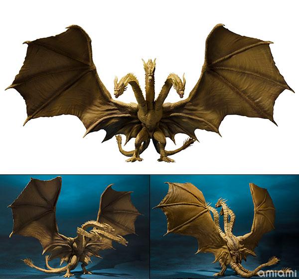 S.H.MonsterArts キングギドラ(2019) 『ゴジラ キング・オブ・モンスターズ』[BANDAI SPIRITS]《在庫切れ》