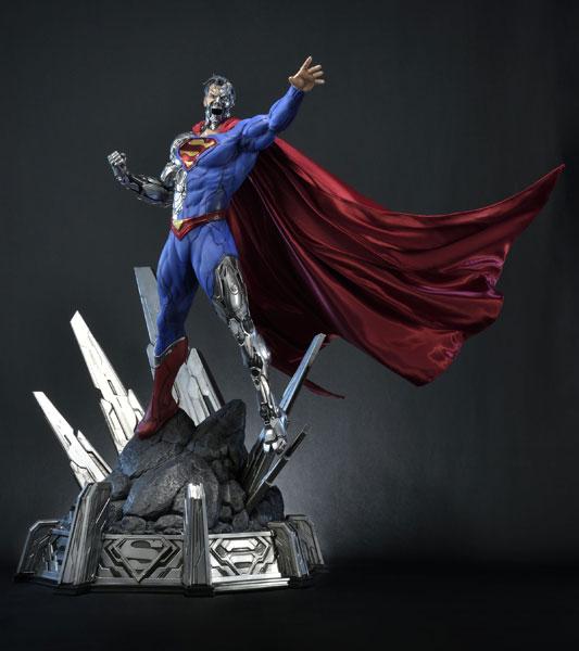 ミュージアムマスターライン/ SUPERMAN: サイボーグ・スーパーマン 1/3 スタチュー[プライム1スタジオ]【同梱不可】【送料無料】《在庫切れ》
