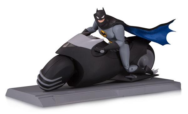 『バットマン アニメイテッド』6インチ DC アクションフィギュア バットサイクル[DCコレクティブル]《在庫切れ》