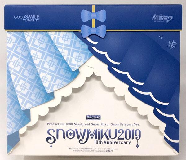 【中古】(本体B+/箱B)ねんどろいど 雪ミク Snow Princess Ver.(ワンダーフェスティバル2019[冬]、GOOD SMILE ONLINE SHOP、さっぽろ雪まつり等限定)[グッドスマイルカンパニー]《発売済・在庫品》