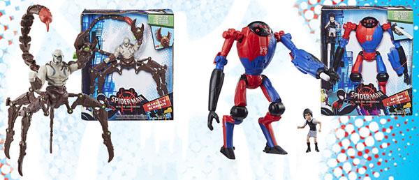 スパイダーマン:スパイダーバース ハズブロ アクションフィギュア 6インチ「デラックス」ウェーブ1 4個入りカートン[ハズブロ]《発売済・在庫品》