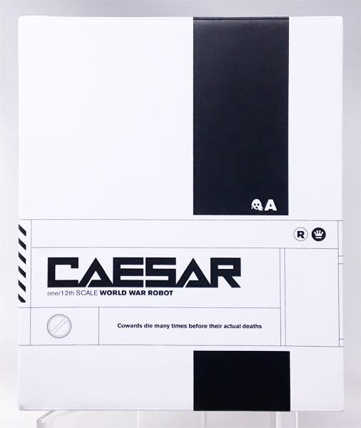 ワールド・ウォー・ロボット CAESAR TOGA WHITE 1/12 可動フィギュア