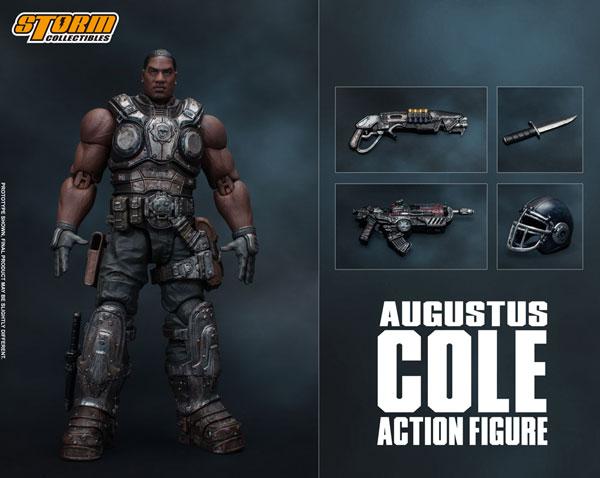 Gears of War (ギアーズ・オブ・ウォー) アクションフィギュア オーガスタス・コール[ストームコレクティブルズ]《07月仮予約》