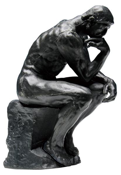 A.Rodin「考える人」 組み立てキット[プラッツ]《在庫切れ》