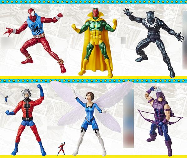 マーベル・コミック ハズブロ 6インチ スーパーヒーローズ・ヴィンテージ シリーズ2.0 6個入りアソート[ハズブロ]【送料無料】《発売済・在庫品》