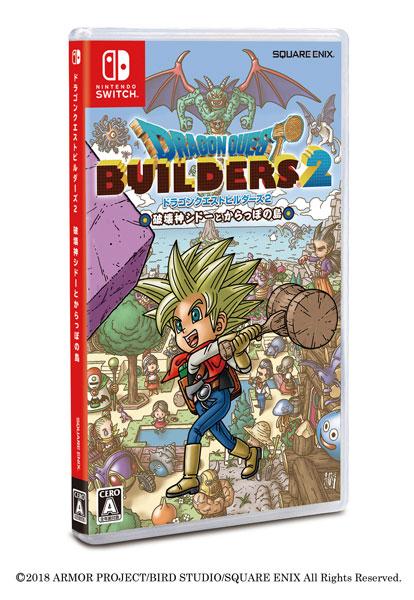 Nintendo Switch ドラゴンクエストビルダーズ2 破壊神シドーとからっぽの島[スクウェア・エニックス]【送料無料】《取り寄せ※暫定》