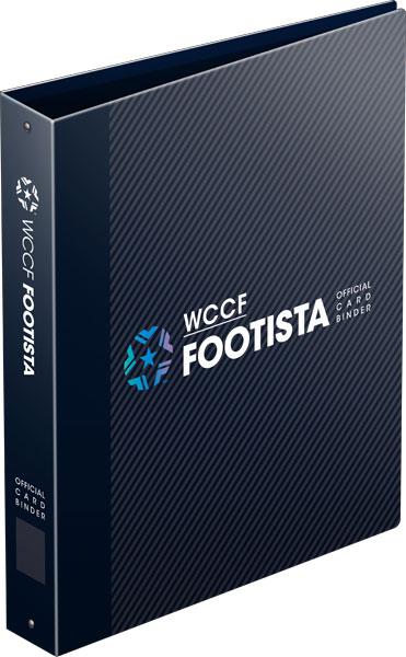 WCCF FOOTISTA オフィシャルカードバインダー EXカードのシリアルコード付き[セガ・インタラクティブ]《発売済・在庫品》