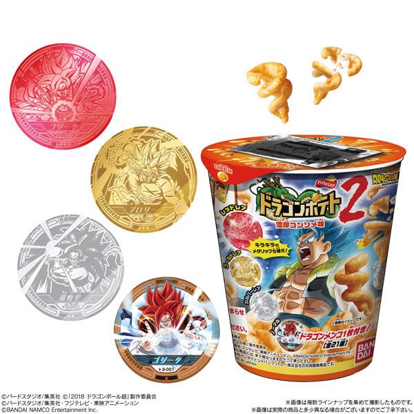 ドラゴンボール ドラゴンポテト2(ブッチギリマッチVer.) 12個入りBOX (食玩)[バンダイ]《在庫切れ》