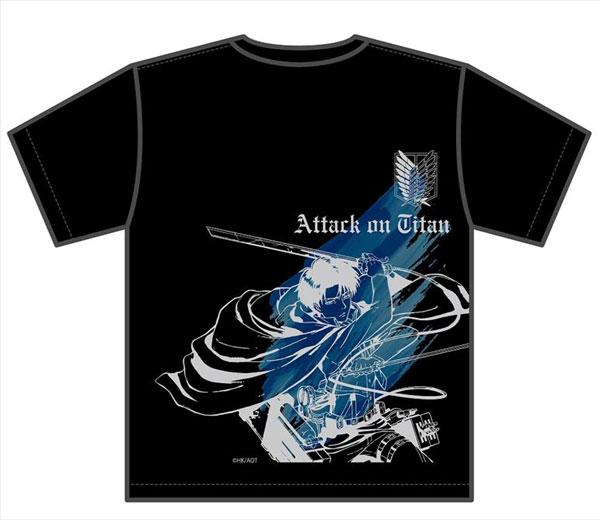 進撃の巨人 リヴァイ Tシャツ M[エムズファクトリー]《03月予約》