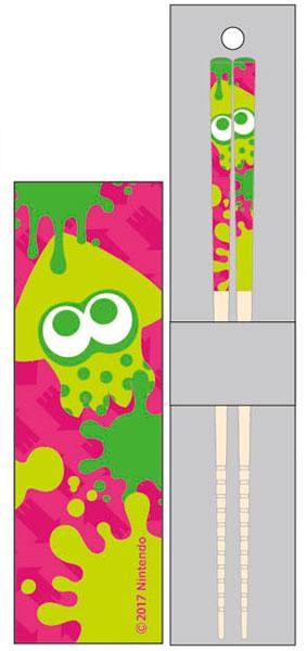 マイ箸コレクション スプラトゥーン2 02 ネオングリーン[バンダイ]《04月予約》