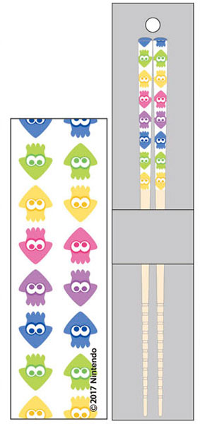 マイ箸コレクション スプラトゥーン2 03 総柄(再販)[バンダイ]《在庫切れ》
