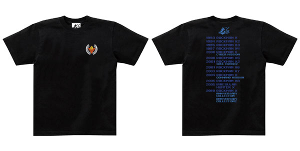 ロックマンX Tシャツ 25th ANNIVERSARY L[カプコン]《03月予約》