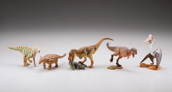 miniQ ミニチュアキューブ 恐竜造形最前線 8個入りBOX[海洋堂]《02月予約》