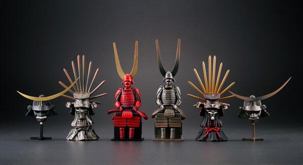 miniQ ミニチュアキューブ 戦国甲冑コレクション 8個入りBOX[海洋堂]《在庫切れ》