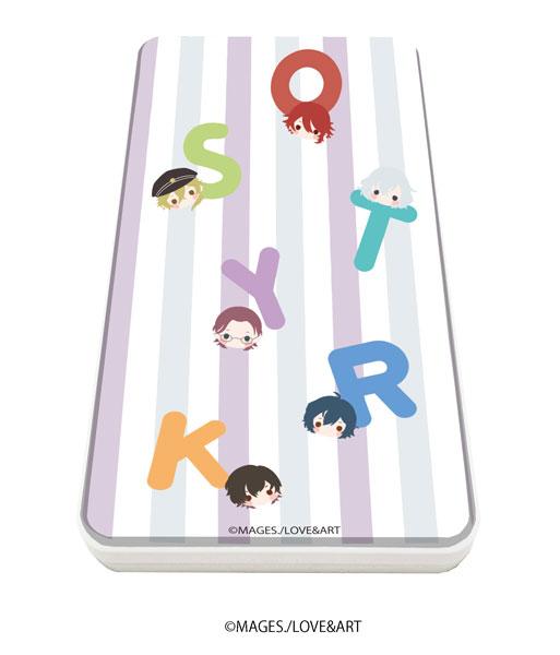 キャラチャージN「明治東亰恋伽~ハヰカラデヱト~」01/ちりばめデザイン紫(KAOKAO)[A3]《在庫切れ》