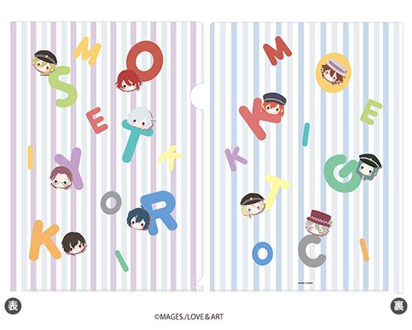クリアファイル「明治東亰恋伽~ハヰカラデヱト~」02/ちりばめデザイン(KAOKAO)[A3]《在庫切れ》