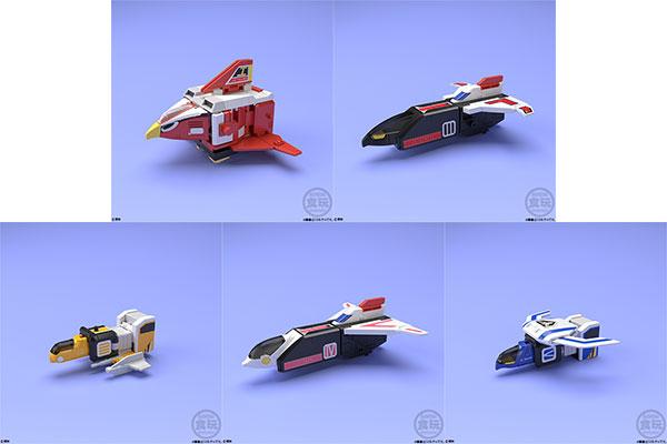 スーパーミニプラ 天空合体 ジェットイカロス 5個入りBOX (食玩)[バンダイ]《発売済・在庫品》