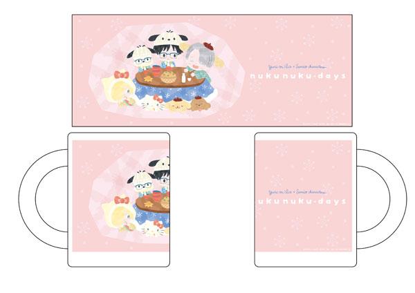 ユーリ!!! on ICE × サンリオキャラクターズ マグカップ nukunuku・days ver.[コンテンツシード]《在庫切れ》