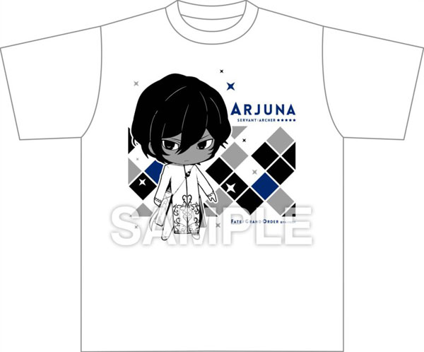 Fate/Grand Order きゃらとりあ Tシャツ アーチャー/アルジュナ[アルジャーノンプロダクト]《在庫切れ》