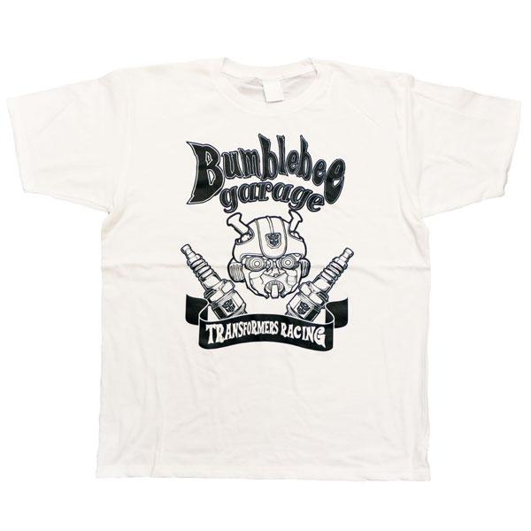 BUMBLEBEE/ バンブルビー トランスフォーマーガレージ Tシャツ TF-RS-30 ホワイト メンズ サイズM[レッドスターカンパニー]《在庫切れ》