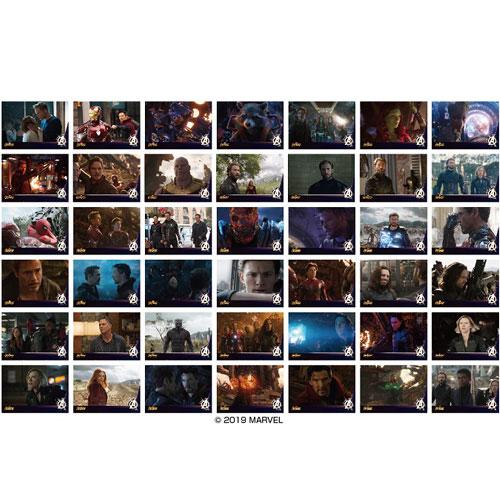 アベンジャーズ/インフィニティ・ウォー ムービーシーンプリンテッドフォトコレクション 14個入りBOX[エンスカイ]《発売済・在庫品》