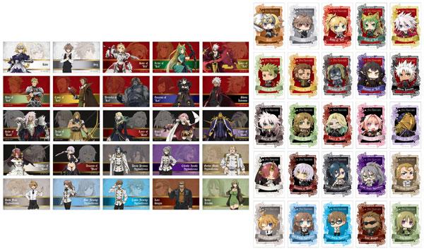 Fate/Apocrypha トレーディングステッカーセット 25個入りパッケージ[フィルター・インク]《在庫切れ》