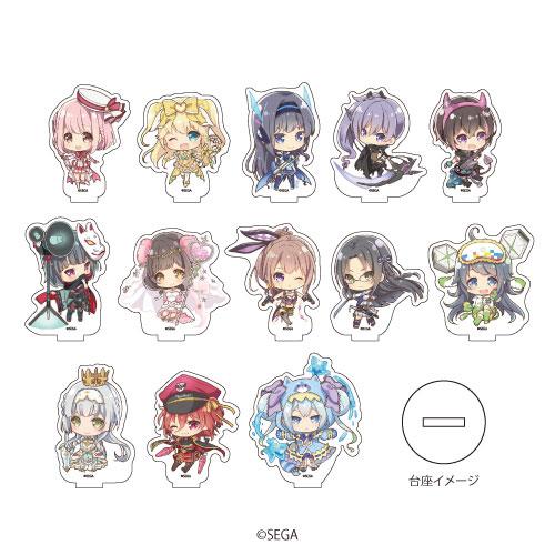 アクリルぷちスタンド「オンゲキ」01/ミニキャラ 13個入りBOX[A3]《在庫切れ》