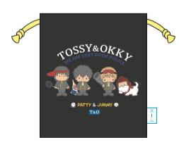 銀魂×Sanrio characters TOSSY AND OKKY×PJ プリント巾着[KThingS]《在庫切れ》