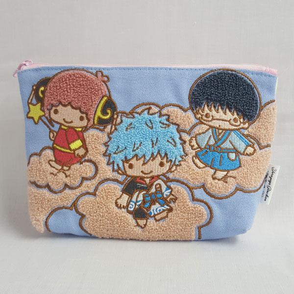 銀魂×Sanrio characters YOROZUYA×TS 相良刺繍ポーチ[KThingS]《在庫切れ》