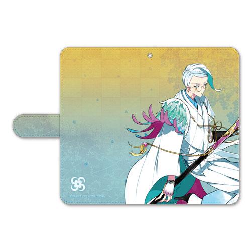 刀剣乱舞-ONLINE- 手帳型モバイルフォンケース(フリーサイズ)63:巴形薙刀[プロケット]《在庫切れ》