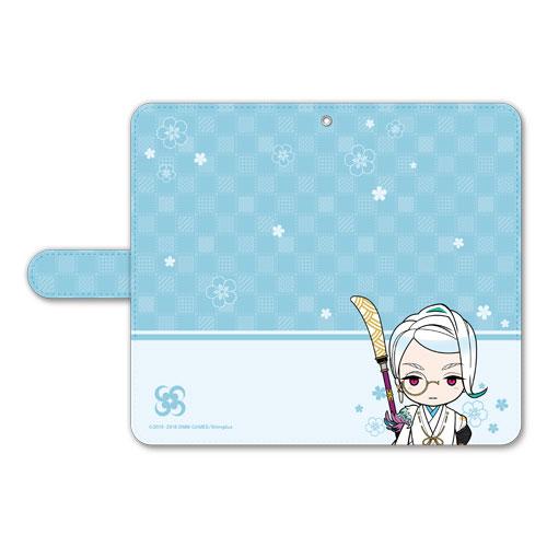刀剣乱舞-ONLINE- ぽてだん! 手帳型モバイルフォンケース(フリーサイズ)64:巴形薙刀[プロケット]《在庫切れ》