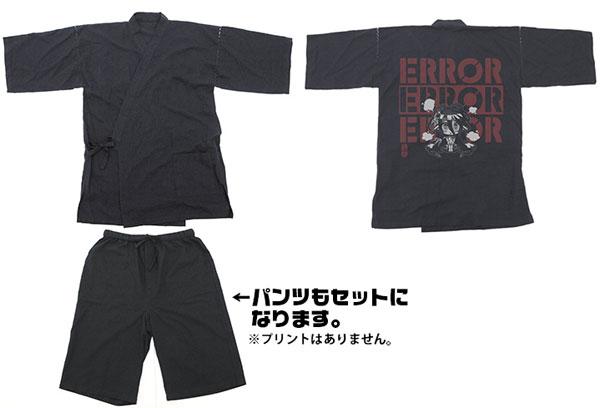 GEE!限定 ノーゲーム・ノーライフ ゼロ シュヴィ エラー甚平/BLACK-L(再販)[コスパ]《10月予約》