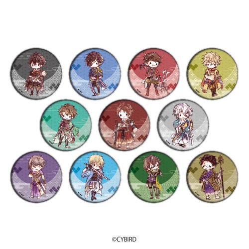 缶バッジ「イケメン戦国◆時をかける恋」01/グラフアート 11個入りBOX[A3]《04月予約》