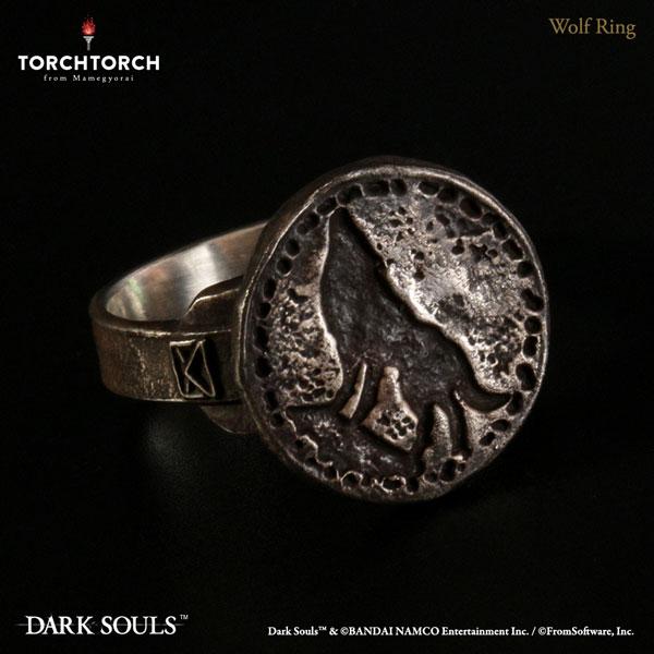 ダークソウル × TORCH TORCH/ リングコレクション: 狼の指輪 メンズモデル 23号[TORCH TORCH]《06月仮予約》