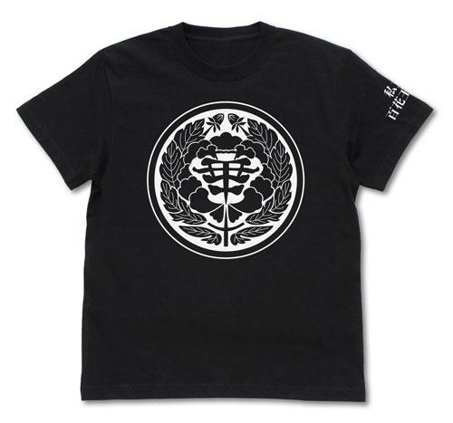 賭ケグルイ 私立百花王学園 Tシャツ/BLACK-XL(再販)[コスパ]《在庫切れ》